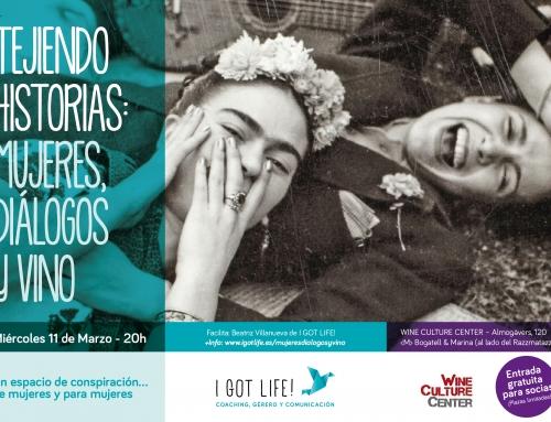 Mujeres, diálogos y vino
